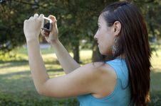 Free Girl Photographer Stock Photo - 2749210