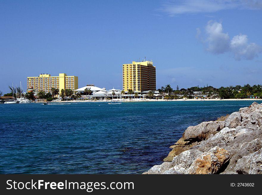 Caribbean Tropical resort