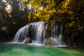 Free Deep Forest Waterfall Stock Photo - 27404290