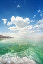 Free Dead Sea Landscape On A Summer Stock Photography - 27404292