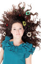 Free Glamorous Cute Curly Girl Royalty Free Stock Photography - 27404457
