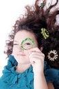 Free Glamorous Portrait Of Curly Girl Royalty Free Stock Image - 27404536