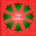Free Lovely Laconic Christmas Card Stock Image - 27406241