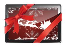 Free Digital Tablet As A Gift Royalty Free Stock Images - 27403559