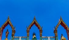 Free Thai Art, Buddha Images On Roof Royalty Free Stock Images - 27409299