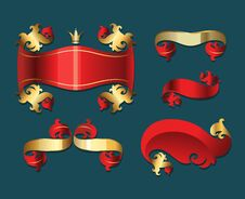 Free Xmas Banners Set. Stock Images - 27410904