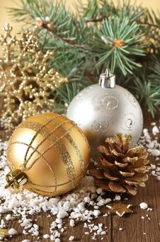 Free Christmas Composition. Stock Photography - 27411662