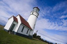 Free Cape Blanco Lighthouse Oregon United States Stock Photo - 27413010