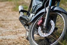 Free Old Wheel Motorcycles. Stock Image - 27413821