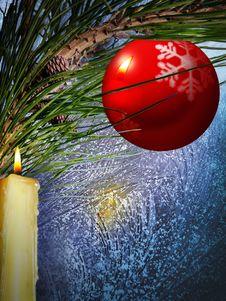 Free Festive Winter Background Royalty Free Stock Image - 27415666