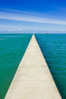 Free Small Concrete Pier Stock Image - 27416901