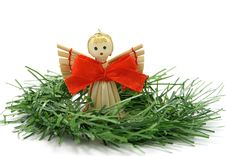Free Angel On A Twig Stock Photography - 27417792