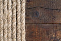 Free Rope And Wood Royalty Free Stock Photo - 27424415