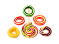 Free Ring Candy On A White Background Royalty Free Stock Photography - 27427357
