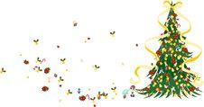 Christmas Tree -Green- Stock Photos