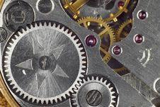 Free Clockwork Closeup Royalty Free Stock Image - 27420786