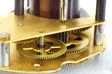 Free Clockwork Macro Royalty Free Stock Photo - 27420905