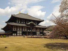 Main Hall Of Todaiji Temple Stock Photos