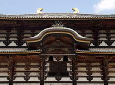 Main Hall Of Todaiji Temple Royalty Free Stock Photography