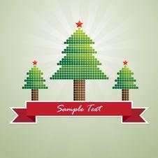 Free Mosaic Christmas Greeting Card Stock Photo - 27425500