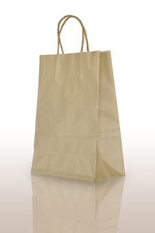 Free Paper Bag Royalty Free Stock Photo - 27426405