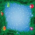 Free Framed Christmas Tree Stock Photos - 27434933