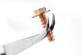 Free Copper Screw Stock Image - 27439821