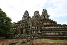 Free Ta Keo Temple In Angkor Royalty Free Stock Photography - 27430237