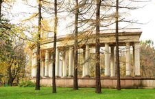 Free Colonnade Of The Old-time Estate Stock Image - 27431171