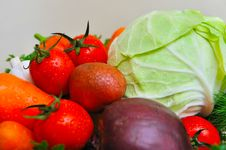 Free Fresh Vegetables Stock Photography - 27435572
