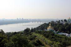 Kiev Pechersk Lavra Orthodox Monastery, Ukraine Stock Photography