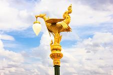Free Golden Swan Thai Style Stock Photos - 27436943