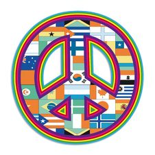 Free Peace Symbol Royalty Free Stock Photos - 27437088