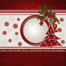 Free Christmas Greeting Card Stock Photo - 27437200