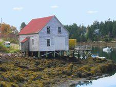 Maine Harbor Stock Images