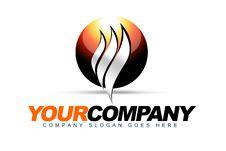 Free Sphere Heat Logo Royalty Free Stock Image - 27438436