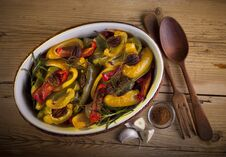 Free Roasted Paprika With Pecan And Rosemary Royalty Free Stock Photo - 27438485