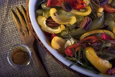 Free Roasted Paprika With Pecan And Rosemary Royalty Free Stock Photography - 27438487