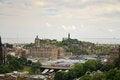 Free Edinburgh Panorama Royalty Free Stock Image - 27444086