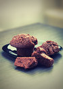 Free Muffins Chocolate Cake Royalty Free Stock Photo - 27444875