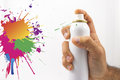 Free Spraying With Paint Royalty Free Stock Image - 27445396