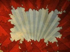 Free Grunge Leaves Frame Stock Photography - 27441222