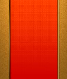 Free Red And Gold Background Royalty Free Stock Photography - 27441507