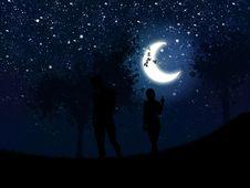 Free Walking At Night Stock Images - 27441704
