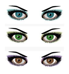 Free Woman Eyes Royalty Free Stock Image - 27441796