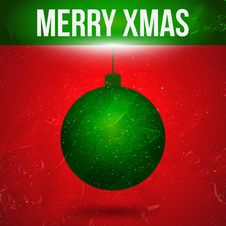 Free Christmas Background Royalty Free Stock Photography - 27447157