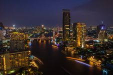 Free Chaophraya River Royalty Free Stock Photo - 27448605