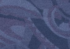 Free Woolen Blue Texture. Royalty Free Stock Photo - 27448705