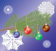 Free Merry Cristmas & New Year Stock Photo - 27448780
