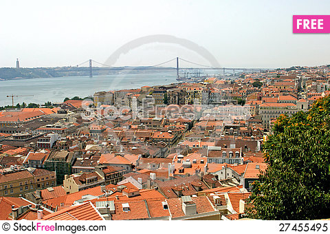 Free Lisbon Royalty Free Stock Photo - 27455495